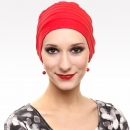 Turban femme modèle Lola ROUGE