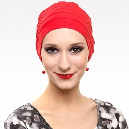 Turban Lola rouge
