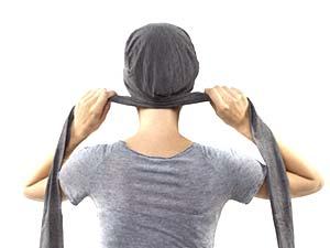 Comment nouer les turbans PIPA DELUXE ET ROMY - nouage 2 - La Galerie des turbans