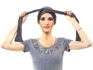 Comment nouer les turbans PIPA DELUXE ET ROMY - nouage 3 - La Galerie des turbans