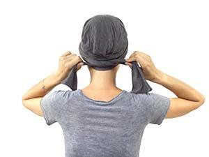 Comment nouer les turbans PIPA DELUXE ET ROMY - nouage 4 - La Galerie des turbans
